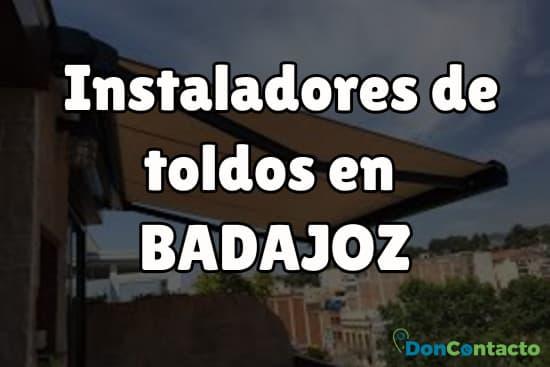 Instaladores de toldos en Badajoz
