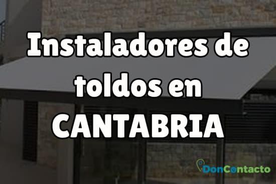 Instaladores de toldos en Cantabria