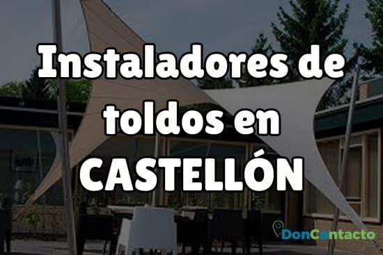 Instaladores de toldos en Castellón