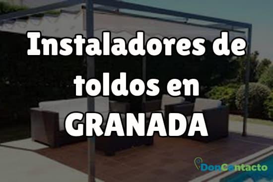 Instaladores de toldos en Granada
