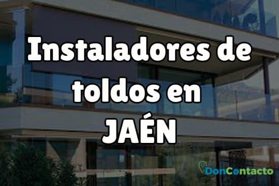 Instaladores de toldos en Jaén