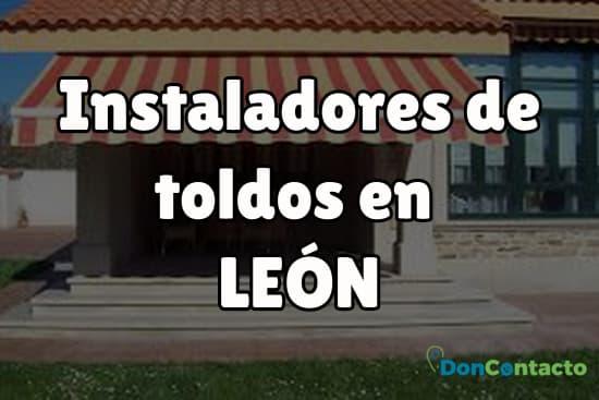 Instaladores de toldos en León
